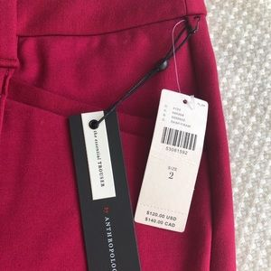 Anthropologie Essential Trousers BNWT